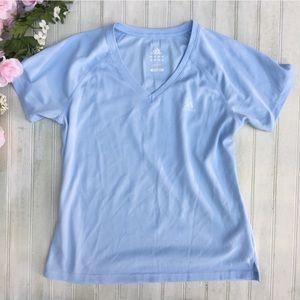 Adidas Clima365 Athletic DriFit Baby Blue Shirt